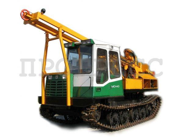 Буровая машина УРБ-4Т на шасси трелевочника МСН-10 (ТТ-4М)