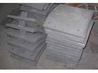 Пластина дробемета из брони 45Х2нмфба и 110Г13Л