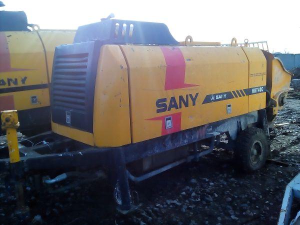 Стационарный бетононасос sany HBT 40C