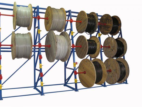 Кабельный стеллаж для барабанов 2,8 м
