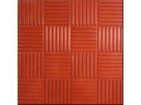 Стоимость тротуарной плитки Паркет (красный) с доставкой