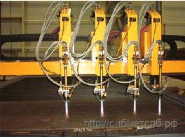 СибМет предлагает услуги по лазерной и гидроабразивной резке металла в