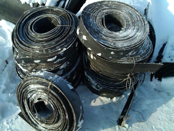 Резинотканевые ремни: ширина от 100мм. до 300мм.