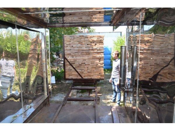 Оборудование и установки для производства термодревесины. Камера сушки