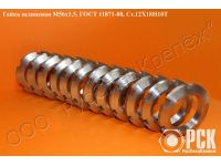 Круглая шлицевая гайка ГОСТ 11871-88, купить шлицевую гайку