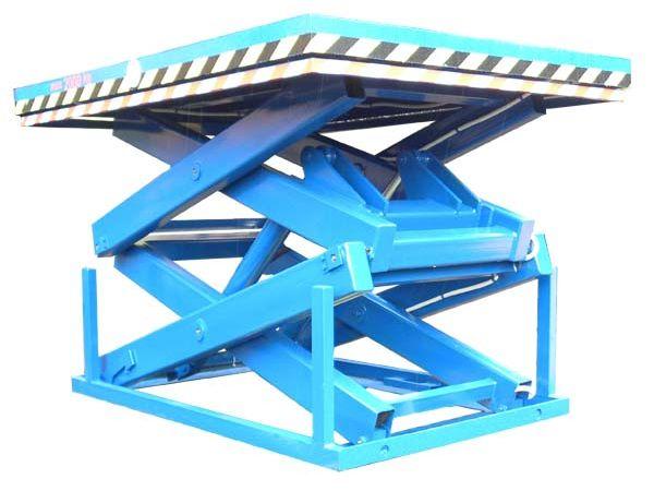 Двухножничные подъемные столы