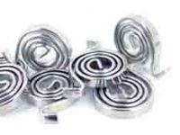 Пружинная лента, проволока, пружины и другие изделия.