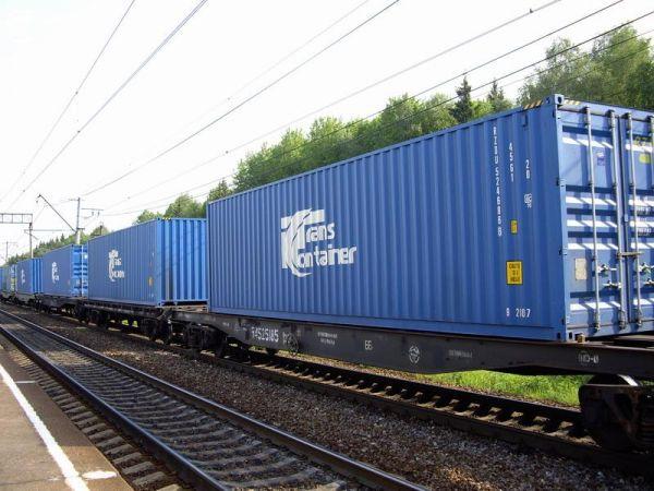 Доставка грузов в контейнерах по ж/д из Москвы.