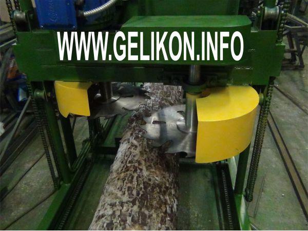 Дисковая пилорама С ручной подачей двигателями по 11 кВт ЦЕНА 234000 р