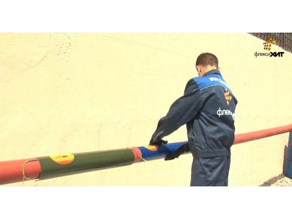 Способ борьбы с промерзанием труб