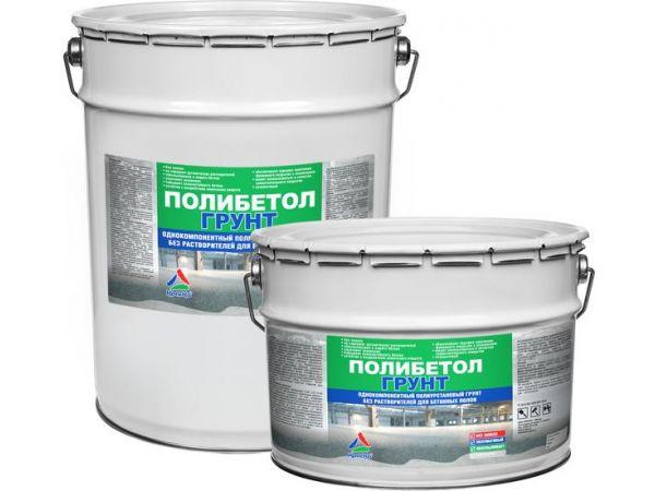 Полиуретановый грунт для бетона (без растворителей) «Полибетол-Грунт»