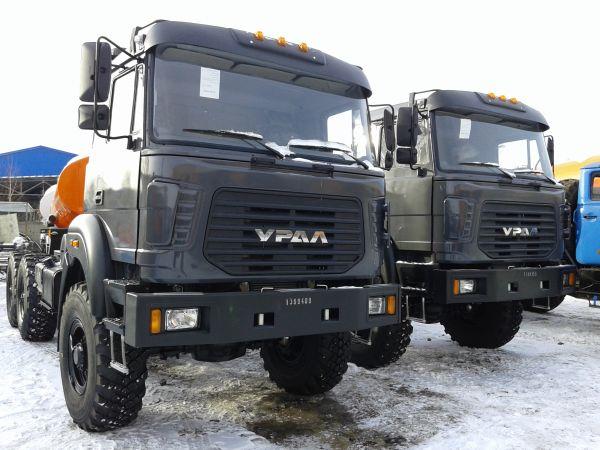 Седельные тягачи Урал 44202-82М бескапотные 2018 г.в. Лизинг