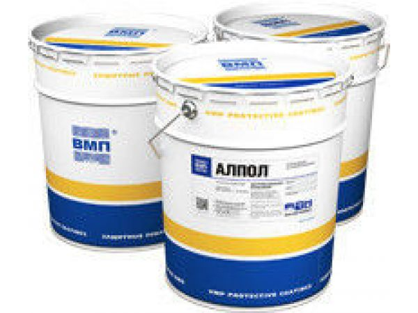 Алпол(алюмик) - антикоррозионная эмаль цена 410,00