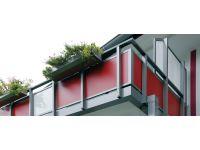 Пластик HPL морозостойкий для отделки фасадов и балконов, Германия