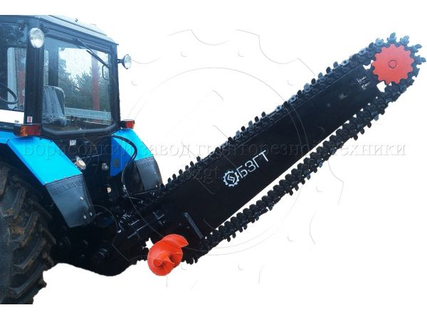 Экскаватор цепной ЭЦ-1800(бара со шнеками)