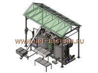 Установка для производства и модификации битума (ПБВ)