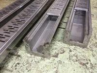 Лотки канализационные из нержавеющей стали