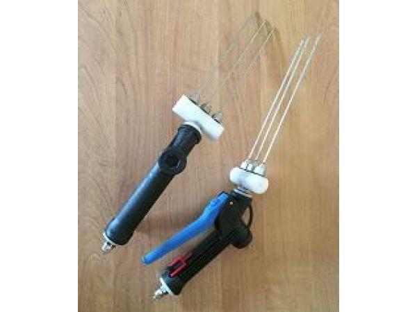 Насадка для ручного инъектора на три иглы