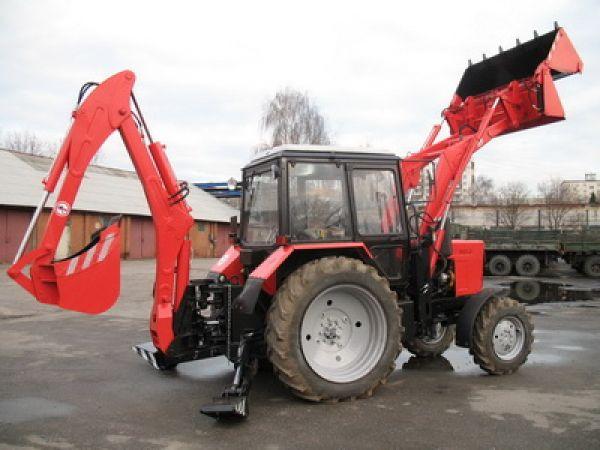ЭБП-9 экскаватор-бульдозер-погрузчик на базе трактора Беларус МТЗ