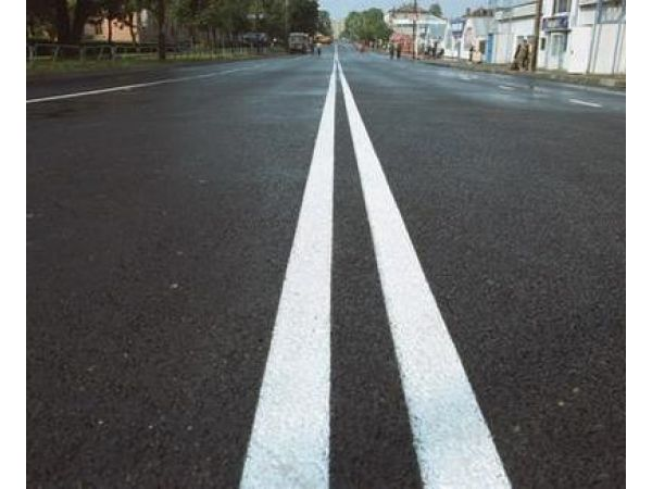 Эмаль АК-511 белая краска для дорожной разметки