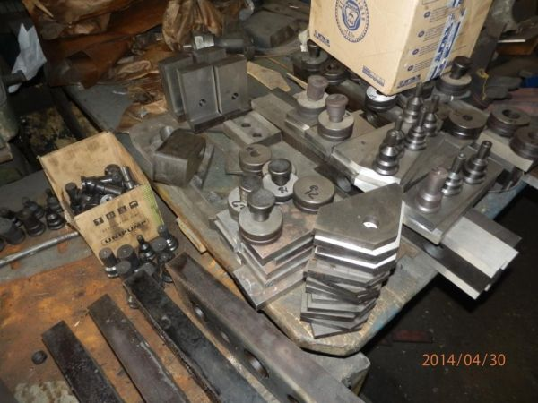 Пробивка отверстий в металле.Резка металла, уголка, прута.