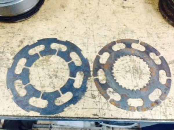 диски фрикционные 1М63