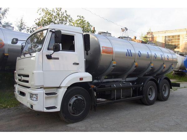 Молоковоз КАМАЗ 14 м3 (новый)