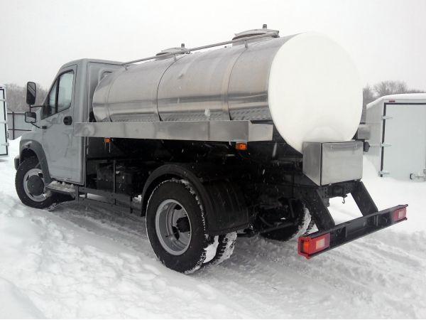 Молоковоз ГАЗ Некст 4,2 м3 (новый)