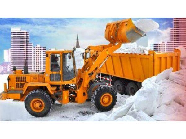 Уборка и вывоз снега, мусора