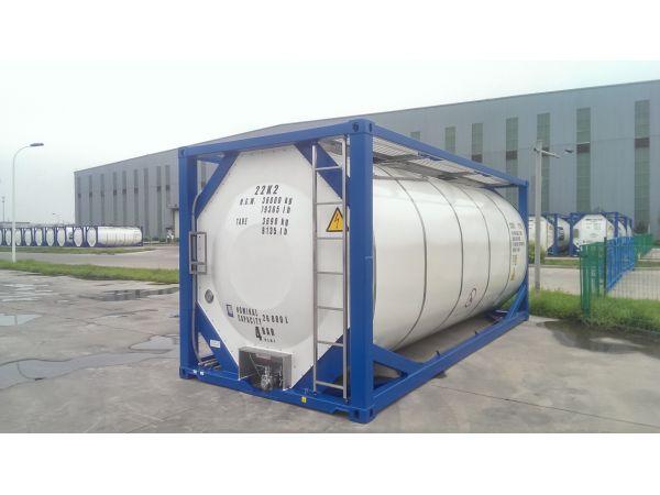 Танк – контейнер Т11, для перевозки серной кислоты химических веществ