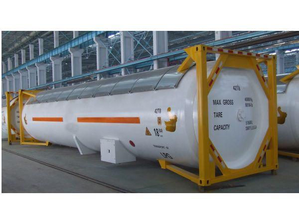 Танк – контейнер Т50, для перевозки СУГ (газ пропан, бутан LPG)