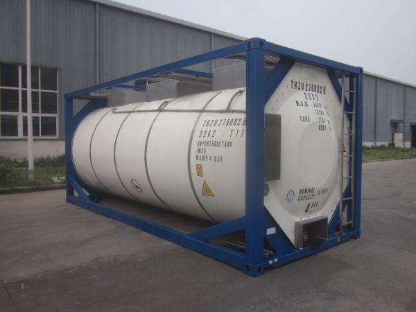 Танк – контейнер Т11, для перевозки эмульсии, как компонента эмульсион