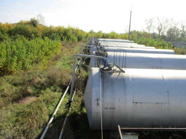 Резервуары (емкости) РГС 25, 40, 50, 60 и 75м3 б/у