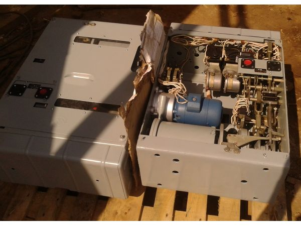 Привод ППО-10 сх. 11224 выключателя ВПМП-10