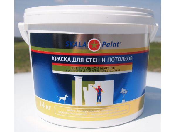 Краска водно-дисперсионная ВД-АК 24  для стен и потолков (14 кг)