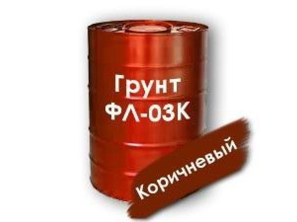 Грунтовка ФЛ-03К ГОСТ 9109-81