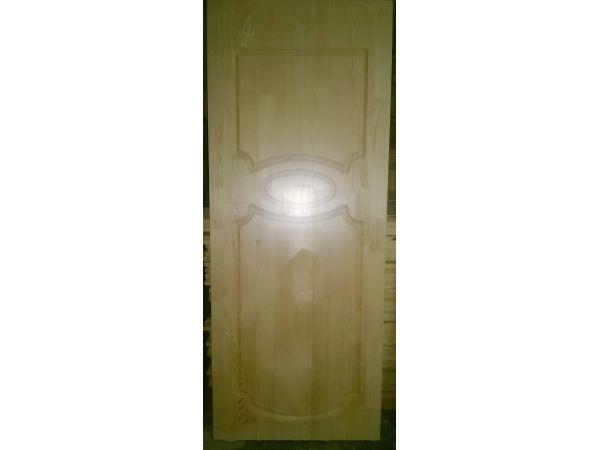 Осиновая вагонка, Двери входные деревянные