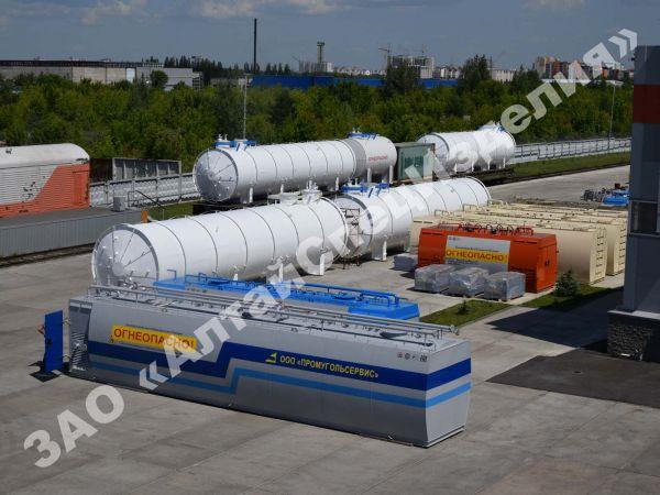 Производство контейнерных АЗС и оборудования для АЗС и нефтебаз