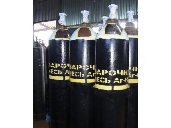 Баллоны под газовую смесь (Аргон со2) 10, 20, 40 л.