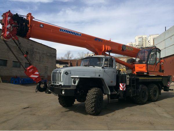 Автокран Клинцы 25 тонн КС-55713-3К-4 (новый)