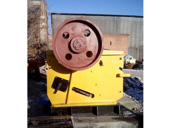 Производство дробилки щековой с приводом СМД-110А ч.1049100000