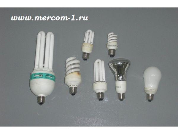 Утилизация люминесцентных, энергосберегающих и других ртутьсодержащих