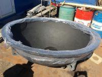 Молодильный чугунный чан для купания