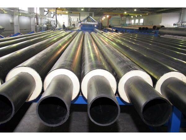 📌Трубы стальные d57-d1420мм в ППУ изоляции (тепловой)