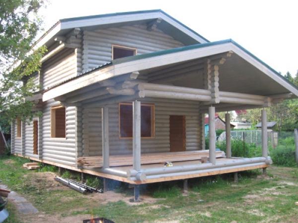 Дома из оцилиндрованного бревна по Вашим проектам!