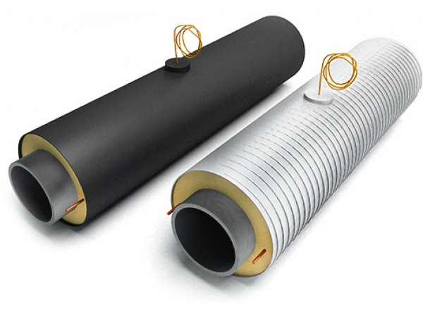 Оказываем услуги ППУ изоляции стальных труб и деталей трубопроводов д
