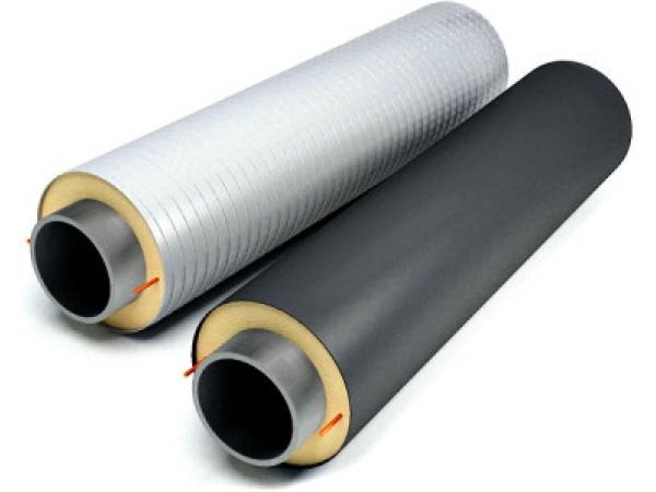 ППУ Изоляция труб д 820 мм по ГОСТ 30732-2006 в ПЭ и ОЦ оболочке