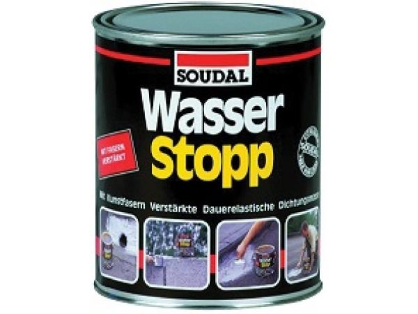 Герметик WASSER STOP SOUDAL (750 гр.)