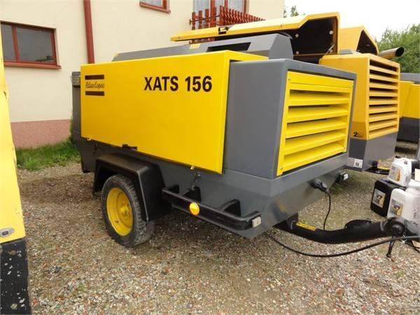 строительный компрессор Atlas Copco XATS 156