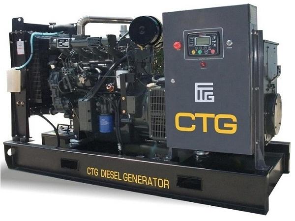 Дизель-генераторные установки CTG с двигателями Wuxi